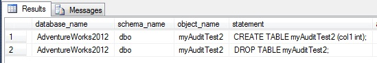 Use audit offset