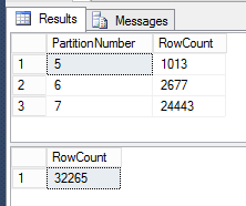 Partitioning - before switch